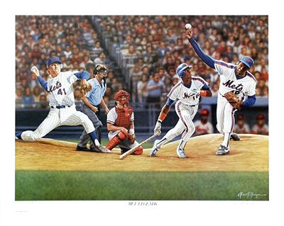 "Zuniga Limited Edition Lithograph:""Met Legends"""
