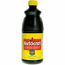 Autocrat Coffee Syrup 32 oz. bottle