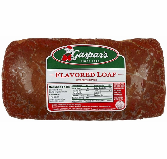 * Gaspar's Linguica Flavored Loaf 5 lbs.