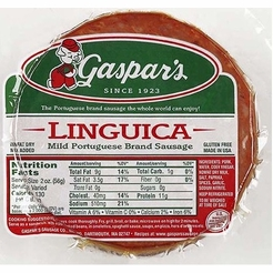 * Gaspar's Linguica Slices 1 lb.