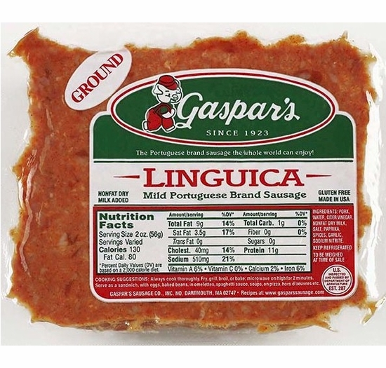 * Gaspars Ground Linguica 1 lb.