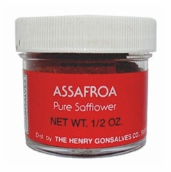 Gonsalves Assafroa Pure Safflower 1/2 oz.