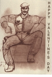 Tom of Finland - Gay Valentines Card