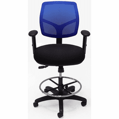 "24/7 300 Lbs. Capacity Multi-Function Office Stool - 24""-31"" Seat Ht."