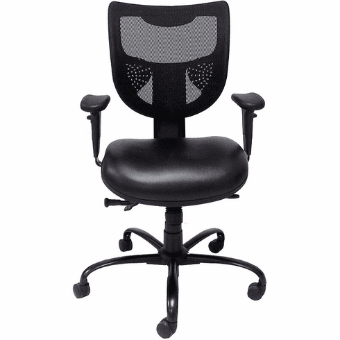 24/7 400 lb. Cap. Multi-Shift Chair w/Antimicrobial Vinyl Seat