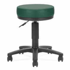 """3"""" Padded Stool w/ Antimicrobial Vinyl - 18"""" - 22""""H Seat"""
