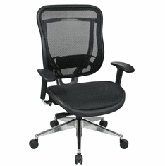 300 Lbs. Capacity All Mesh Executive Chair w/Seat Slider