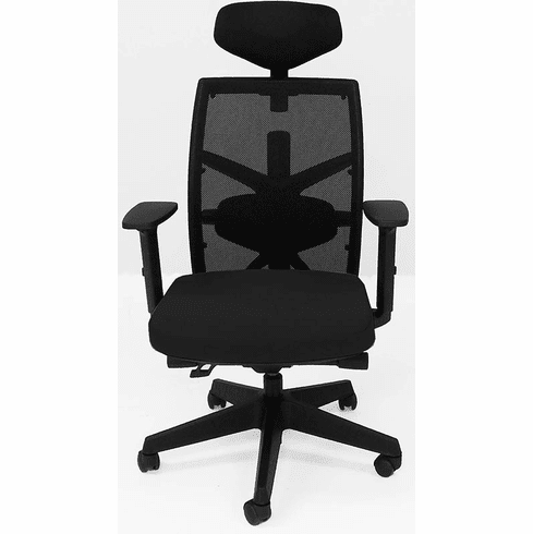 300 lb. Capacity Multi-Function Office Chair w/Seat Slide & Headrest