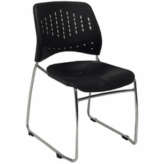 300 lb. Capacity Premium Ganging Office Stack Chair