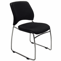 300 lb. Capacity Premium Padded Ganging Office Stack Chair