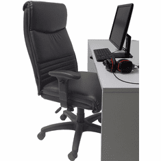 400 lbs. Capacity Extra-Wide Black Gaming Chair