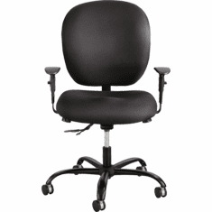 500 Lbs. Capacity 24/7 Rated Task Chair in Fabric or Vinyl