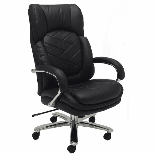 500 Lbs. Heavyweight Leather Office Chair