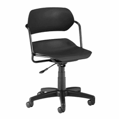 Armless Swivel Chair for Schools