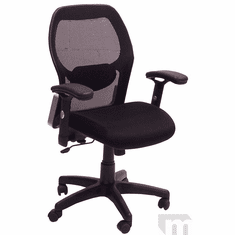 Black Mesh Back Ergonomic Office Chair