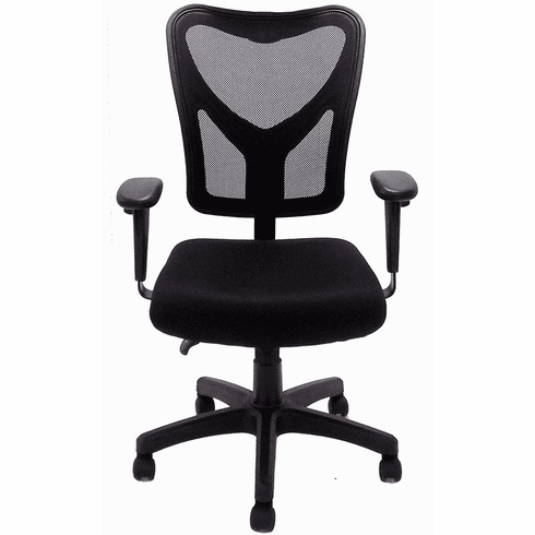 Black Mesh Multi-Function Ergonomic Office Chair