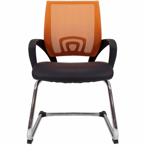Leather & Mesh Color Burst Reception Chairs