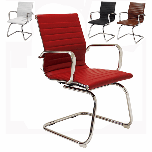 Modern Leather Guest Office Chairs