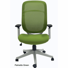 Ergonomic White Frame Mesh Office Chair