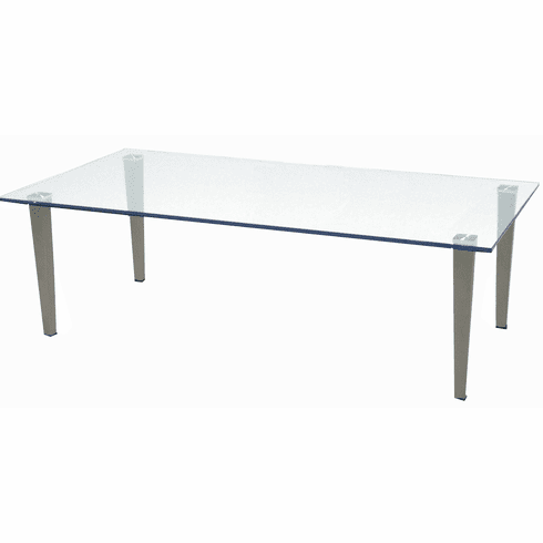 Glass Office Coffee Table