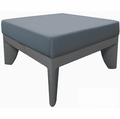 Gray Modular Reception Bench