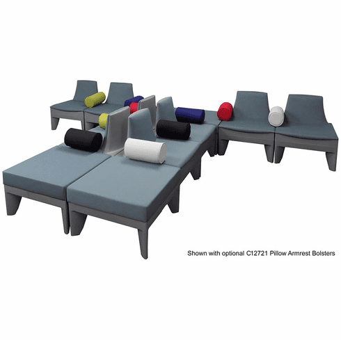 Gray T-Shape Reception Seating Package – See Other Configurations!