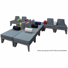 Gray T-Shape Reception Seating Package � See Other Configurations!