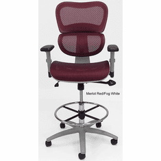 HumanFlex Elastic All Mesh Ergonomic Office Stool