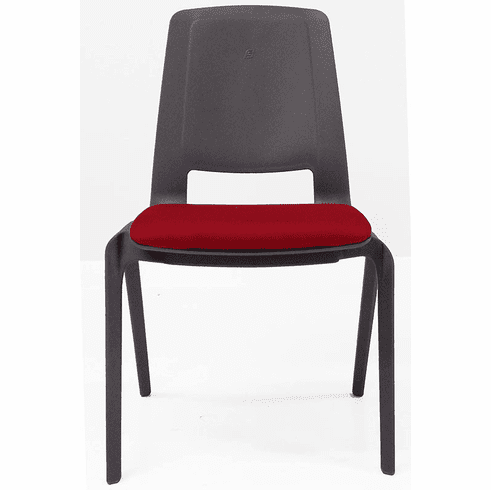 Heavy Duty FlexBack Ganging Stack Chair w/Padded Seat - 300 lb. Capacity!
