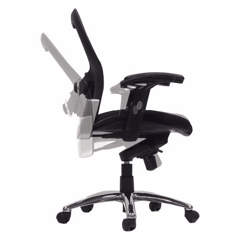Knee-Tilt Mesh Back Ergonomic Chair
