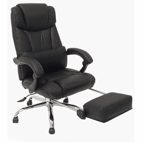 Merveilleux Leather Reclining Office Chair 4.png