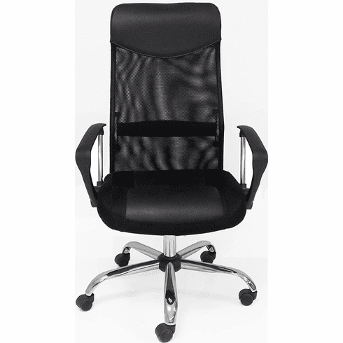 Black Mesh High Back Office Chair