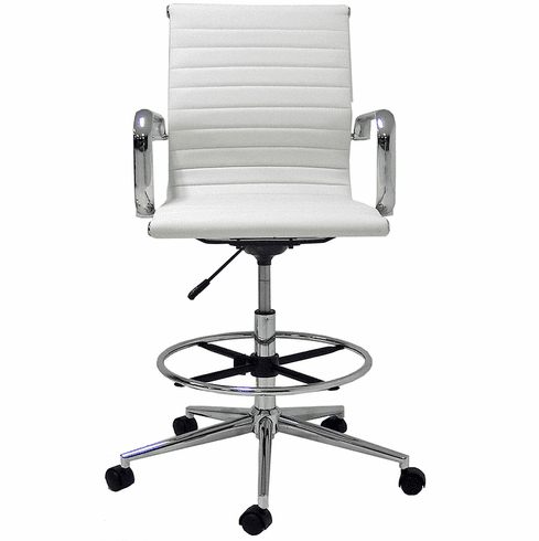 "Modern Classic Office Stool w/23""-32"" Seat Height"