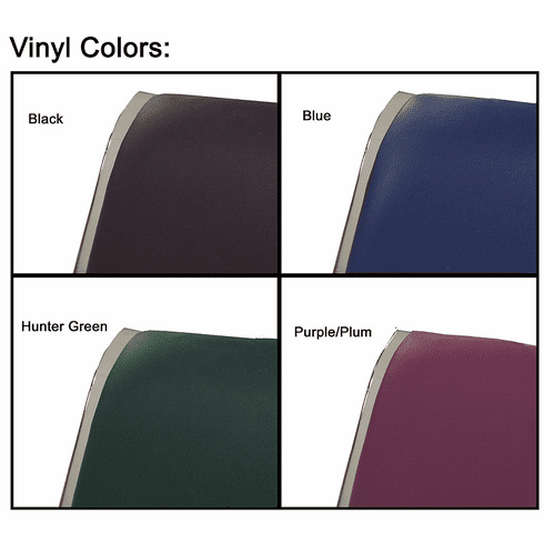 Optional Padded Vinyl Seat/Back Cushion Sets