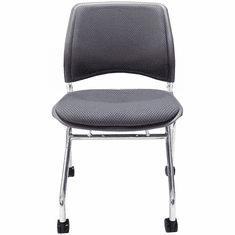Padded Flip Seat Nesting Chair w/ 300-Pound Capacity