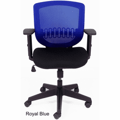 Posture Chair with Mesh Backrest