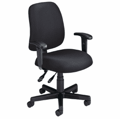 Posture Computer Task Chair with Arms