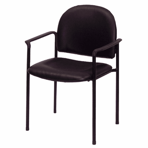 SteelWorks Stackable Guest/Seminar Chair in Vinyl