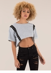 Totally Hooked Oversized Crop Top