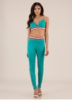 Rainbow Mood Striped Top And Pant Set