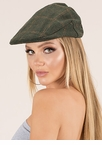 Back In The Day Plaid Flat Cap