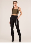 Good Vibes Suspender Jogger Trousers