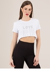 Dripping In Love Rhinestone Letter Top