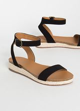 Sunny Day Braided Ankle Strap Sandals