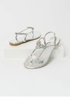 All My Heart Jeweled T-Strap Sandals