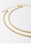 I Added You Curb Chain Necklace Duo