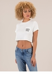 Babes Only Cropped Graphic Pocket Tee
