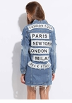 City Tour Destroyed Patched Jean Jacket