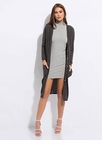 Go Long Knit Button-Up Cardigan