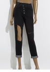 It's A Wrap Button-Fly Cut-Out Jeans